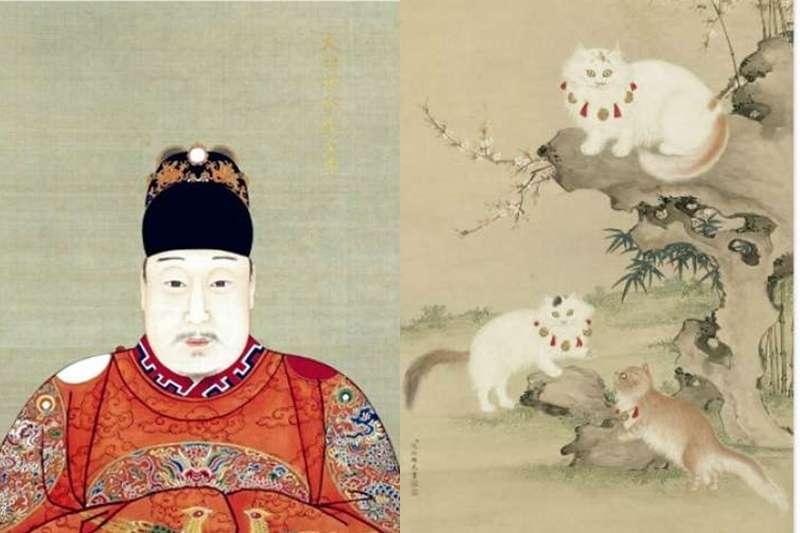 大明变大萌,古代猫奴更疯狂,从皇帝到名人全部臣服喵星人
