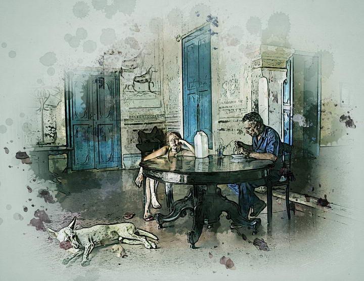 如何禁止你的狗狗在桌边乞食